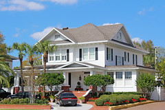 Historic House, Bayshore Blvd., Tampa