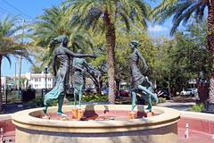 Fountain Sculptures, Bern's Park, Tampa