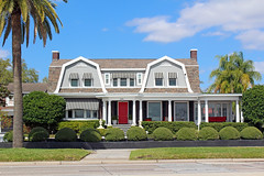 Dutch Colonial Style House, Bayshore Boulevard, Tampa