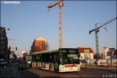 Man NL 223 – RATP (Régie Autonome des Transports Parisiens) / STIF (Syndicat des Transports d'Île-de-France) n°9145