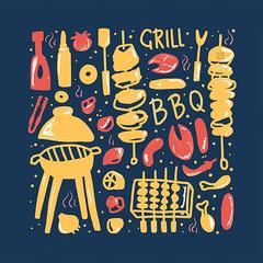 BBQing at Landhaus
