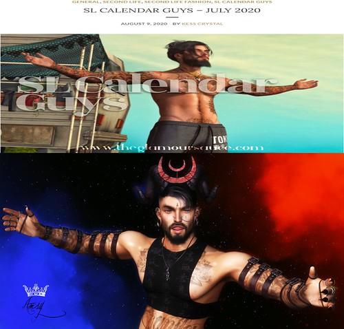 SL Calendar Guys - July 2020
