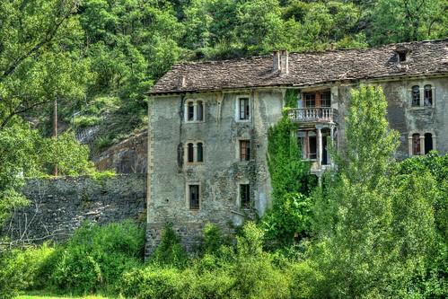Casa abandonada en Fiscal (Huesca)