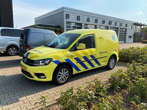 VW Caddy (2019) MAI 03-565, Coordinatie (NL)
