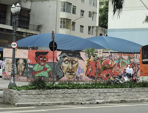 Avenida Ipiranga near Edificio Copan