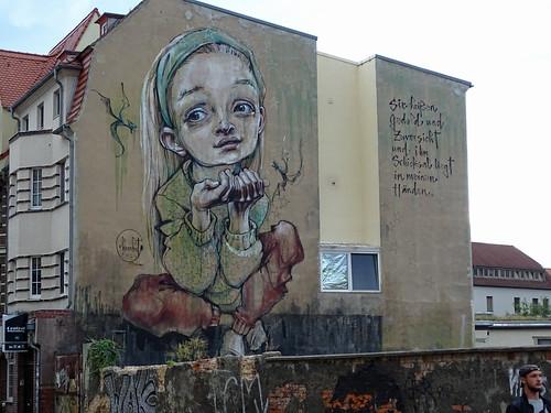 Graffity in Wittenberg
