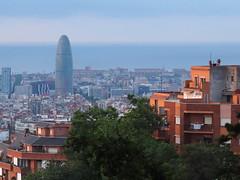 Barcelona_hora blava_des del Parc del Guinardó_P5300005