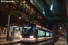 Bombardier TVR (Transport sur Voie Réservée) – Keolis Caen / Twisto n°516 - Photo of Basly