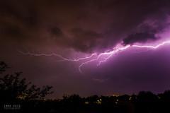 Gewitter über Kassel