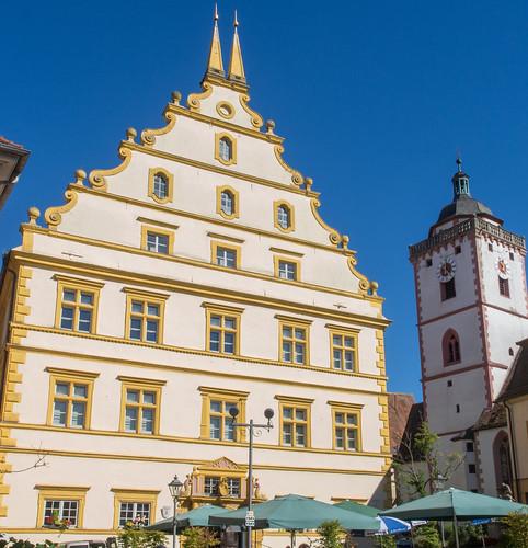 Marktbreit Schlossplatz