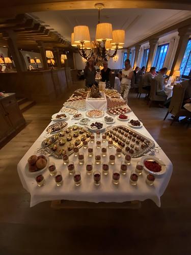 Dessert buffet. Hotel Madrisa