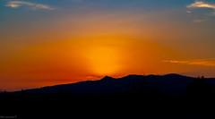 Sunset North of Perpignan France 14/08/2020.