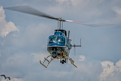 TPD chopper arriving at the pad at TPA