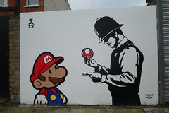Penge street art