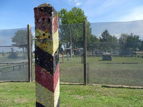 Iron wall memorial near Aulosen