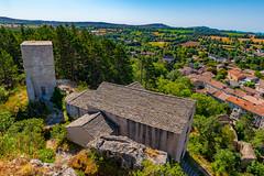 The Notre-Dame du Roc Castel chapel des