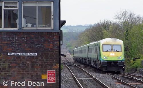 Irish Rail 4008 at Mallow.
