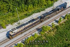 NS 8101 | GE ES44AC | NS Memphis District West End