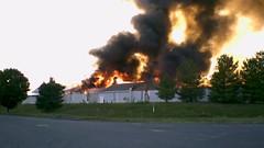 Burning of Waynesboro Outlet Village Building 7, August 12, 2006