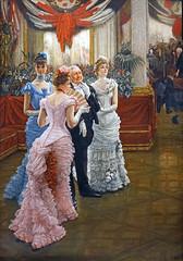"""""""Les Demoiselles de Province"""" de James Tissot (Musée d'Orsay, Paris)"""