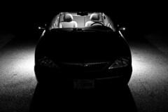 Mercury Sable with ground lighting illuminated [01]