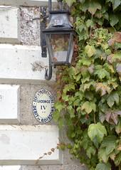 Traveling in France - Old Tourist Signs - Debit de Boissons