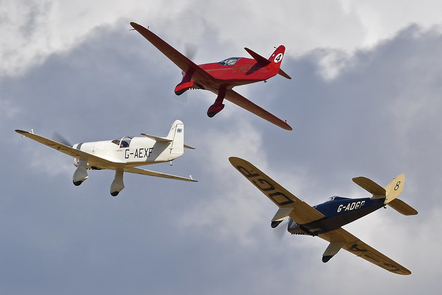 Photo:Hawk Speed Six and Mew Gulls. Old Warden, 02-8-2020 By HawkeyeUK - Support your local Air Museum!