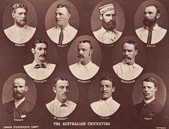 Australian Cricketers in England, 1884, London Stereoscopic Company