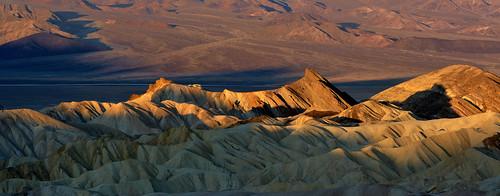 Sunrise at Zabriskie Point - Death Valley, California