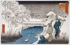 Ochanomizu d'Utagawa Hiroshige (Musée Guimet / MNAAG, Paris