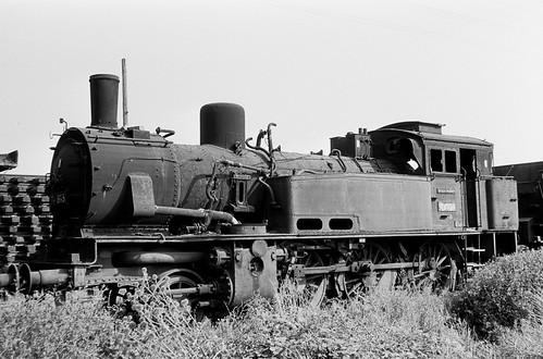 DR 74 893 (ex K.P.u.G.H.St.E. T 12 8233 Berlin; Borsig 1913) Bw Leipzig Hbf West Z