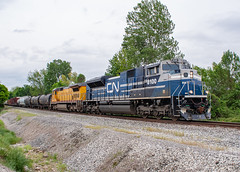 Canadian National CN 8100 (SD70ACe) Ex-EMD Demo Memphis, Tennessee