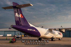 N810FX FedEx Feeder   ATR 72-202(F)   Memphis International Airport