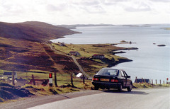 Near the end of the road, in the Shetland Islands 1983