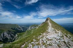 MONTE SIBILLA da Castelluccio di Norcia (monti Sibillini)