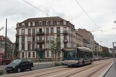 Heuliez Bus GX 327 n°768  -  Strasbourg, CTS