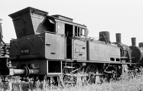 DR 74 1233 (ex K.P.u.G.H.St.E. T 12 8706 Berlin; Borsig 1916) Bw Leipzig Hbf West Z