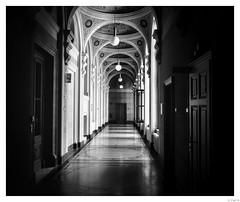 One corridor in Vienna.