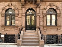 A bold face: 266 West 11th Street (1887), Greenwich Village, New York