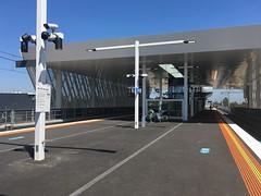 Platforms at new Reservoir Station