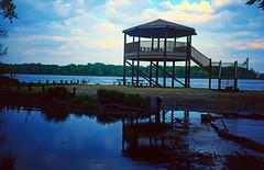 Picnic Spot - Mississippi River - Clinton, Iowa
