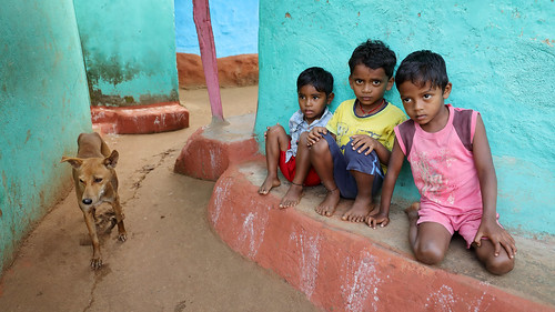 India, young boys in Odisha