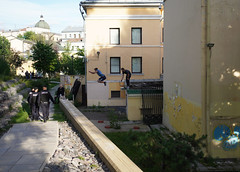 Moscow Parkour