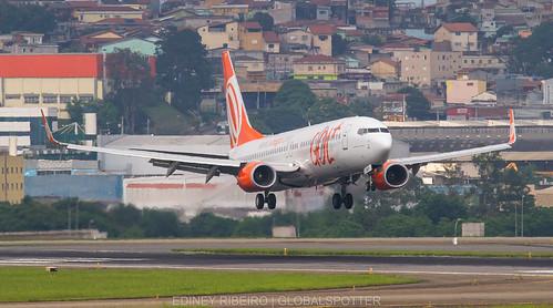 BOEING 737-800 GOL   GRU-SBGR