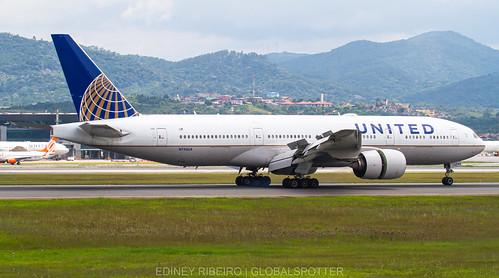 BOEING 777-200ER UNITED AIRLINES   GRU-SBGR