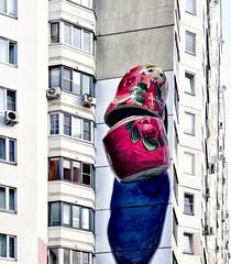 Russian national graffiti