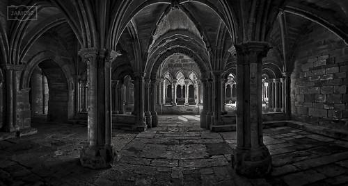 Sala capitular de Santa María la Real / Chapter room in Santa María la Real monastery. Aguilar de Campoo