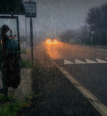 Of those mornings a rainy day