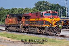 KCS 4854   GE ES44AC   CN Harrison Yard