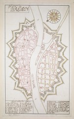 "The BL King's Topographical Collection: ""PLAN de BREMEN."""